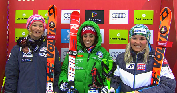 ÖSV NEWS: Zweites Saisonpodest für Tamara Tippler