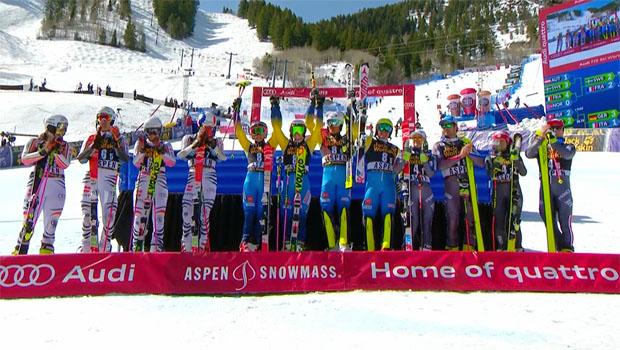 Schweden gewinnt Team Event beim Saisonfinale in Aspen