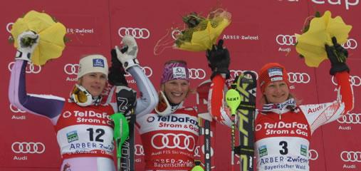 Slalom der Damen in Zwiesel 2011