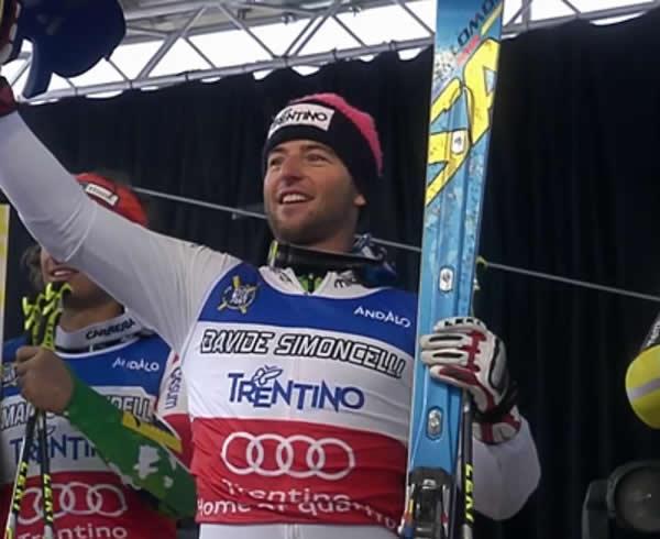 Davide Simoncelli gewinnt das Alpine Rockfest 2012