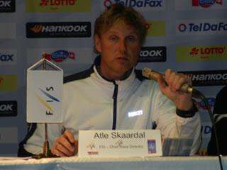 """Atle Skaardal: """"Es sieht nicht so schlecht aus, aber eisig wird es nicht werden."""""""