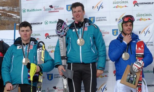 © ski.sarntal.com / Frederic Berthold gewinnt die Super-Kombi in Reinswald