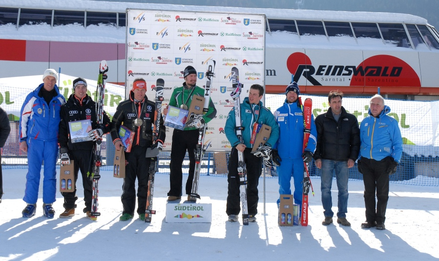 © ski.sarntal.com / Silvano Varettoni gewinnt Super G im Sarntal / Reinswald