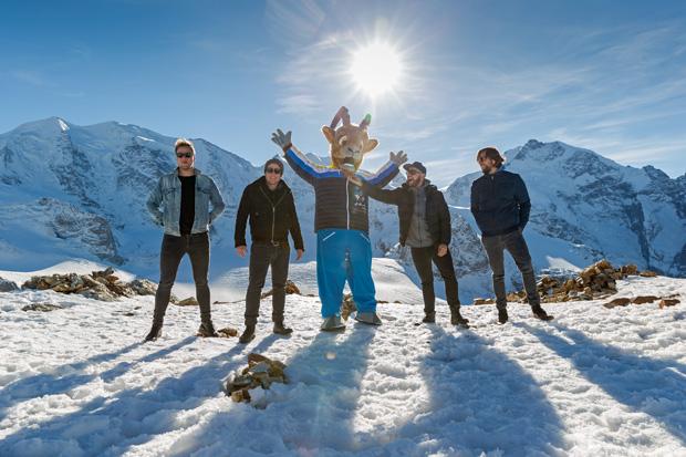 "77 Bombay Street: ""Empire"" ist der offizielle Song der Ski WM St. Moritz 2017 (Foto: www.stmoritz2017.com / Filip Zuan Photography)"