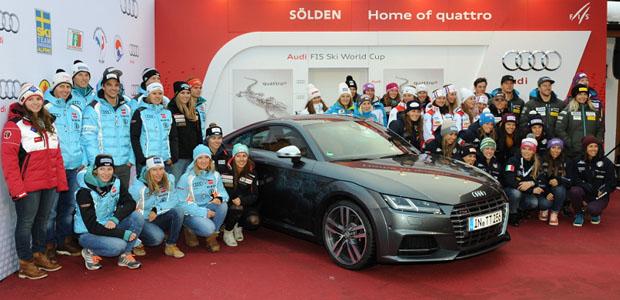 © Ch. Einecke (CEPIX) / Audi startet in Sölden in alpine WM-Saison