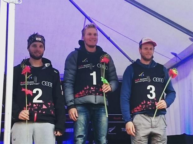 Adam Zampa auch beim Slalom in Coronet Peak erfolgreich (Foto: Adam Zampa / facebook)