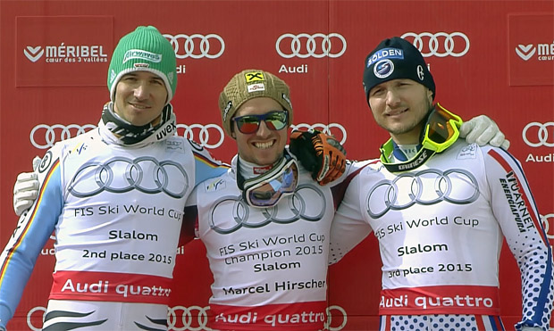 Felix Neureuther - Marcel Hirscher - Alexander Choroschilow