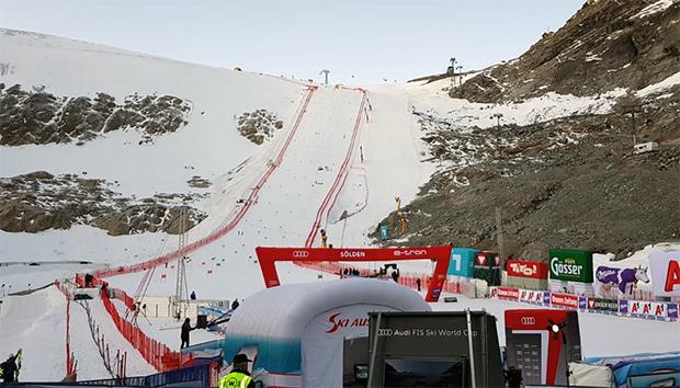 Grünes Licht für Ski Weltcup Auftakt in Sölden (Foto: © Ch. Einecke (CEPIX) )