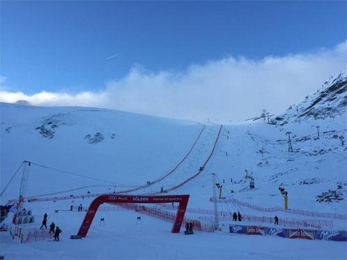 © facebook / Austria Ski Team - Guten Morgen aus Sölden