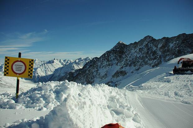 © Ch. Einecke (CEPIX) / Ski Weltcup Opening in Sölden: Vorbereitungen am Rettenbachferner laufen auf Hochtouren