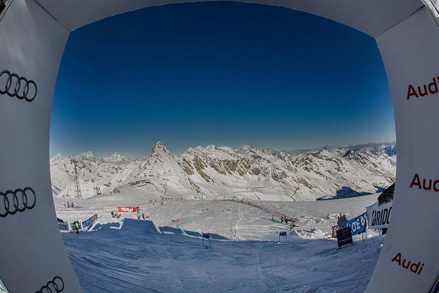 © skiweltcup.soelden.com / Weiße Pracht in Sölden erweckt winterliche Gefühle