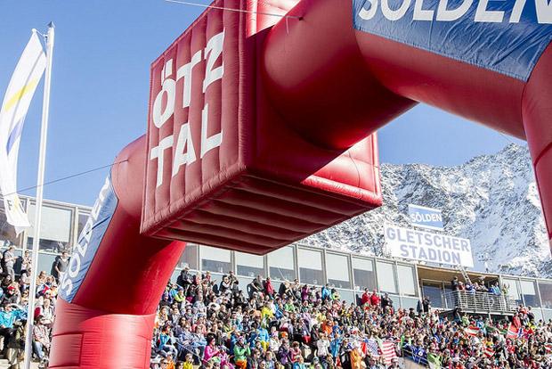© skiweltcup.soelden.com /   Skiweltcup-Opening in Sölden: Pistenchef Isidor Grüner ist guter Dinge