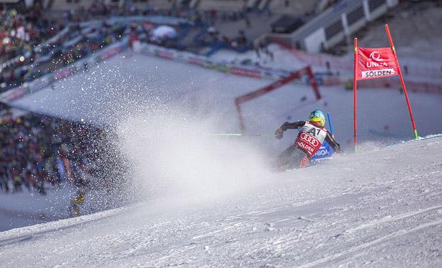 © skiweltcup.soelden.com / In Sölden dominiert ein winterliches Weiß