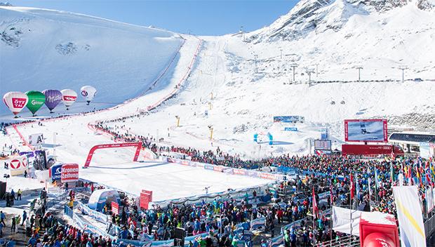 Vorbereitungen für Ski Weltcup Auftakt in Sölden laufen auf Hochtouren (Foto: © Bergbahnen Sölden)