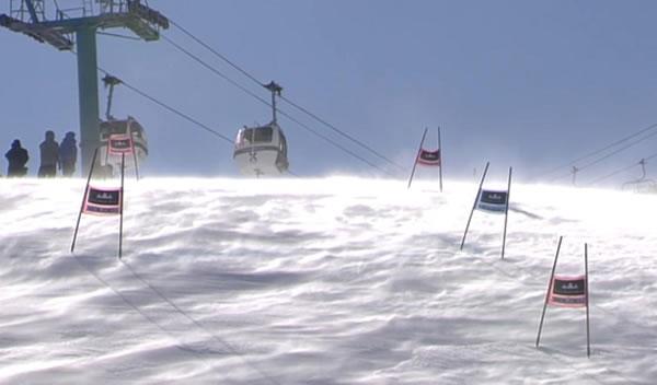 Damen Riesenslalom in Soldeu wegen starken Windes abgesagt