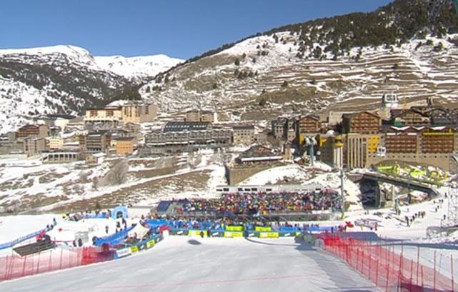 Slalom der Damen in Soldeu