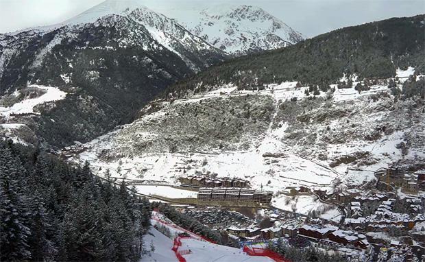 Kleines Land Andorra freut sich auf zwei große Skispektakel