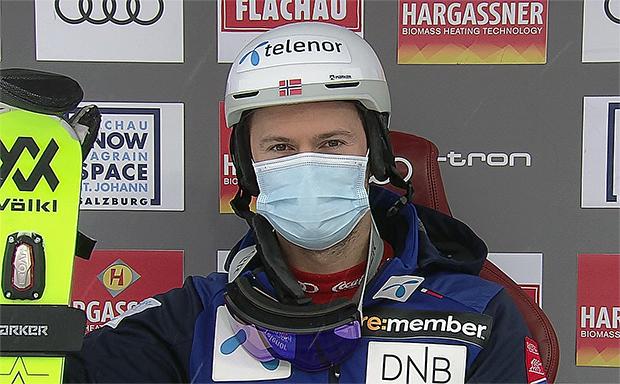 Sebastian Foss-Solevaag übernimmt Zwischenführung beim 2. Slalom in Flachau - Final-Durchgang live ab 13.45 Uhr