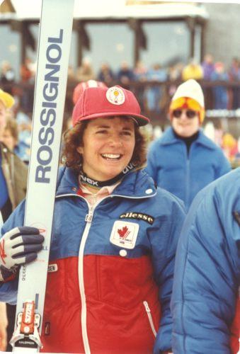 """© Canadian Ski Museum  /  Geraldine Ann """"Gerry"""" Sorensen"""