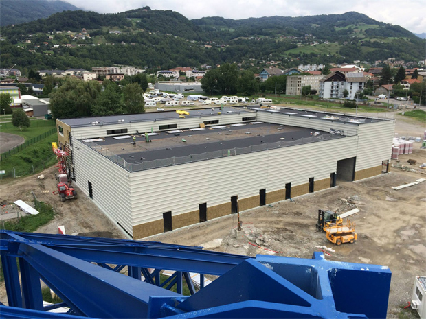 Neues Verbandszentrum in Albertville (Foto: Fédération Française de Ski)
