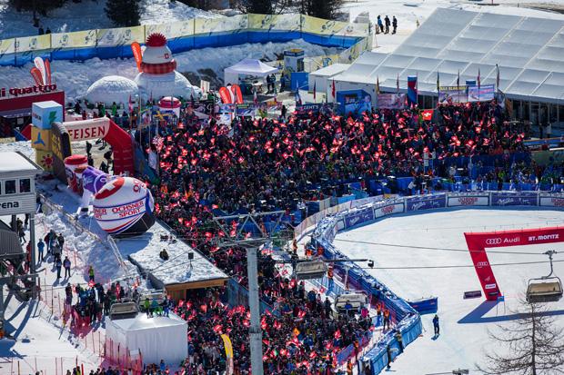 Ski WM St. Moritz 2017: Das positive Echo zum Stand der WM-Planung (Foto: Nicola Pitaro / Ski WM St. Moritz 2017)
