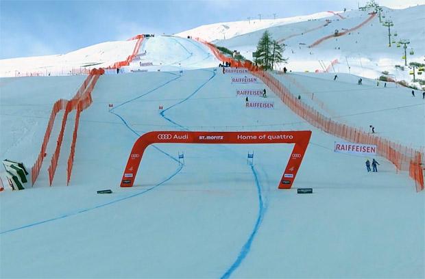 Alpine Kombination in St. Moritz wird nachgeholt