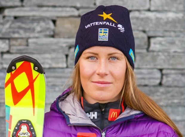 © www.skidor.com /  Schwedin Ylva Stålnacke gewinnt Europacup-Slalom in Trysil