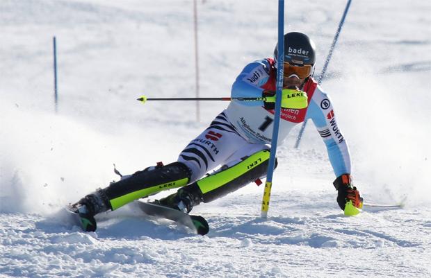 © Gerwig Löffelholz / Dominik Stehle mit Startnummer 1 auf Platz 1