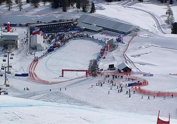LIVE: Abfahrt der Damen in St. Moritz