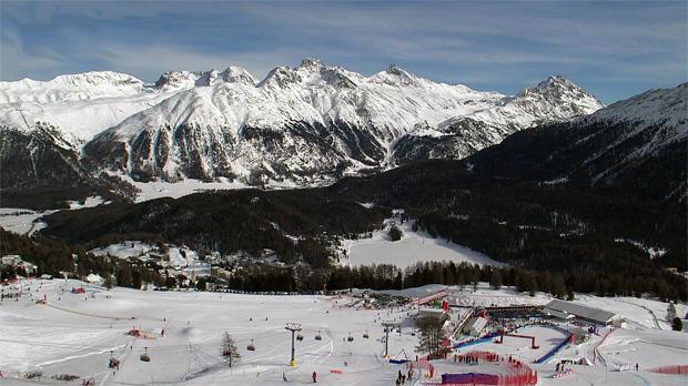 Super G der Damen in St. Moritz