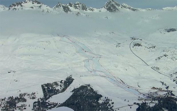 St. Moritz: Aktuelles Bild - Sonntag - 10.00 Uhr