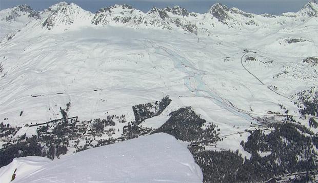 St. Moritz: Aktuelles Bild - Sonntag - 10.30 Uhr