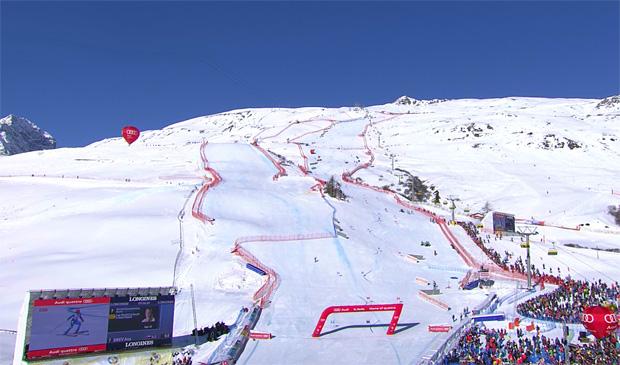 Frau Holle könnte die Rennen in St. Moritz gefährden