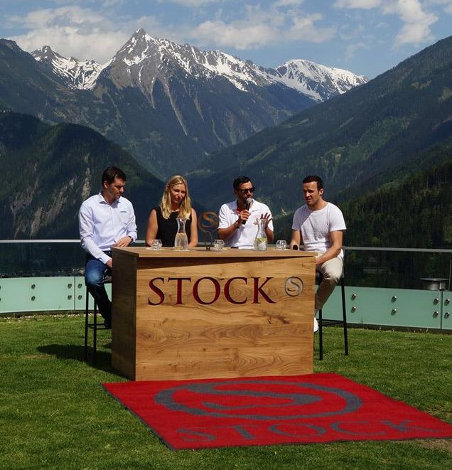 © STOCK resort /  STOCK Sport-Talk mit Matthias Lanzinger, Babsi Schett, Moderator Stefan Steinacher und Christof Innerhofer