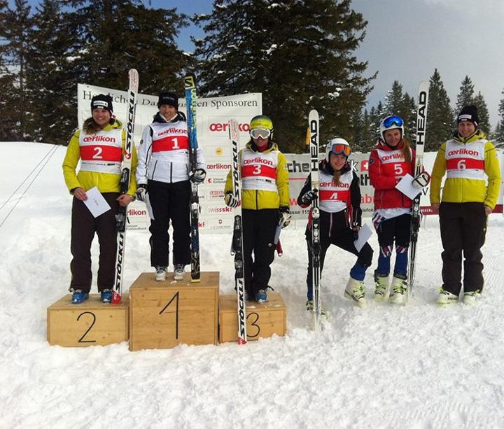 © Christian Siegrist / Die Spanierin Carolina Ruiz Castillo gewann den FIS-Super-G der Frauen auf dem Stoos.