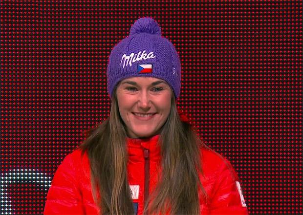 Strachova erobert WM-Bronze im Damen-Slalom
