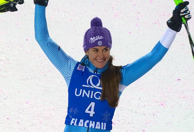 Strachova weiter in Top-Form - Zweite im Flachau-Slalom