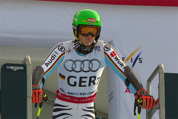 Linus Straßer bei der Ski WM 2015 in Vail