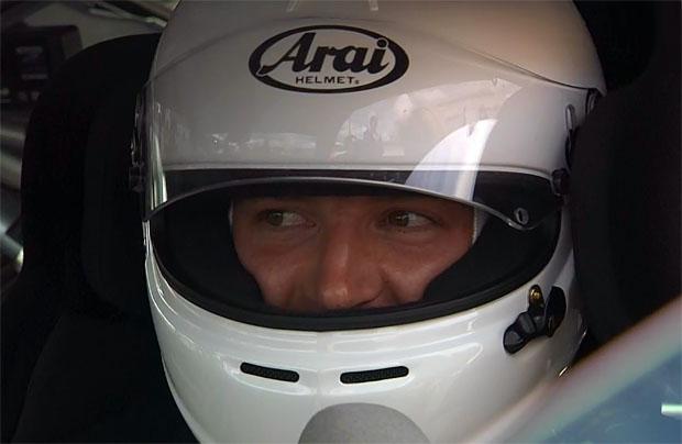 Linus Straßer beim Audi-TT-Cup in Nürnberg auf dem Norisring