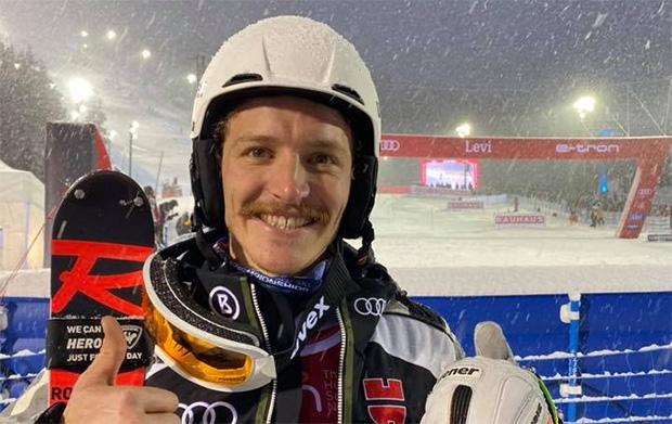 Linus Straßer gewinnt Europacup Slalom Auftakt in Fundesdalen (Foto: © Linus Strasser / Facebook)