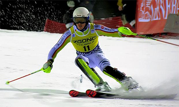 Linus Straßer konnte mit Platz 6 in Madonna di Campiglio überzeugen.