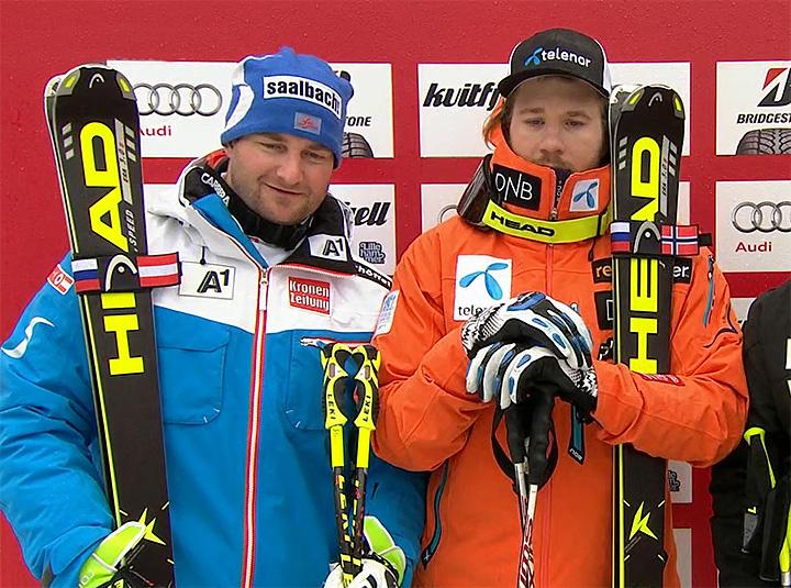 Georg Streitberger (AUT) & Kjetil Jansrud (NOR)