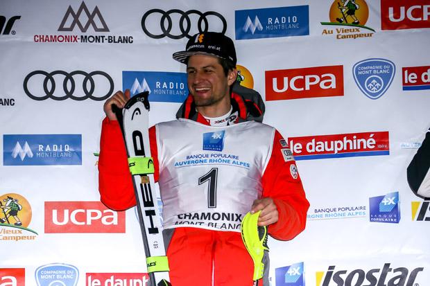 Europacup-Gesamtsieger Johannes Strolz (© HEAD/AGENCE ZOOM)