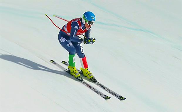 Südtirolerin Verena Stuffer startet erfolgreich in Lake Louise Wochenende