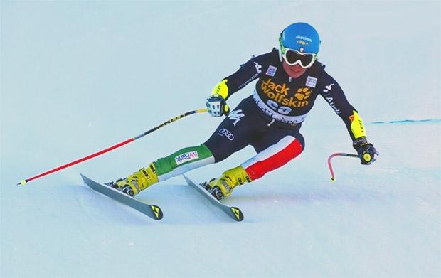 Verena Stuffer freut sich auf Abfahrt in Val d'Isère