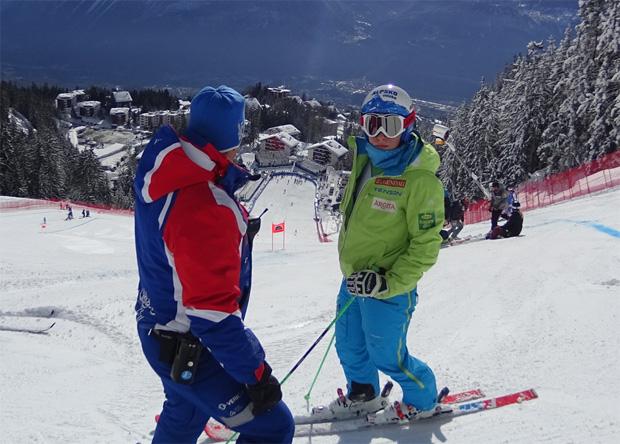 """Ilka Štuhec im Skiweltcup.TV Interview: """"Jeder Skitag macht mich glücklich!"""" (Foto privat)"""