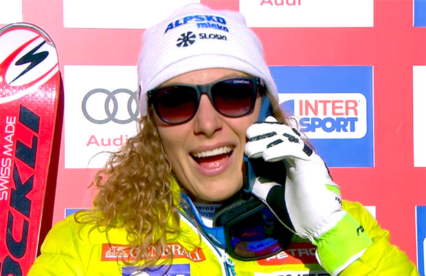 Bestzeit für Ilka Štuhec beim zweiten Aspen-Abfahrtstraining