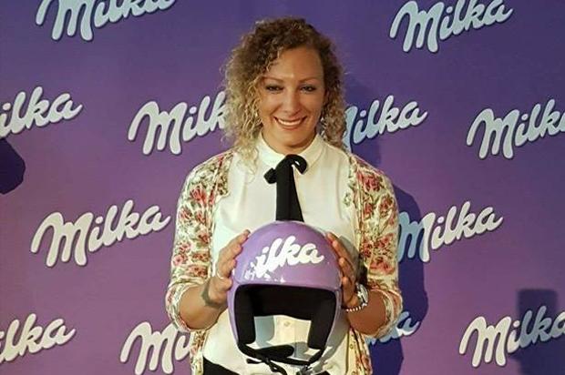 Ilka Štuhec will sich in Sölden von ihrer Schokoladenseite zeigen (Foto: Ilka Stuhec / Facebook)