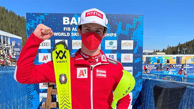 Junioren-WM 2021: Joshua Sturm holt Bronze im Slalom (Foto: © ÖSV/Schramm)