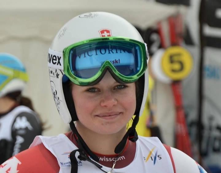 © facebook / Swiss Alpin Ski Team - 2-fache Junioren Weltmeisterin Corinne Suter (SUI)